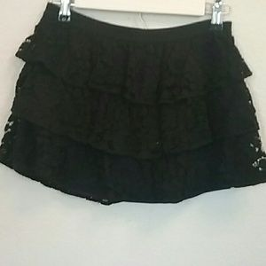 Justice Lace Skirt/Shorts